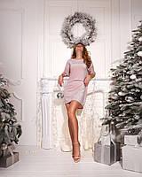 Платье-футболка розовое, фото 1