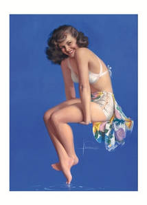 Открытка ROLF ARMSTRONG Twinkle Toes, 1947