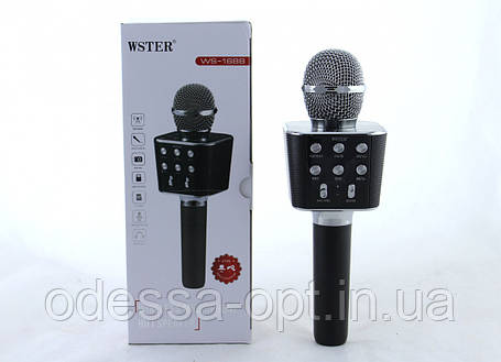 Безпровідний мікрофон караоке Karaoke DM WS 1688, фото 2