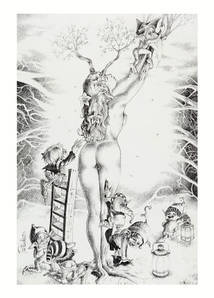 Листівка PERLA PILUCKI Fairy Song, A Gallery of Fairies, Sprites, and Nymphs