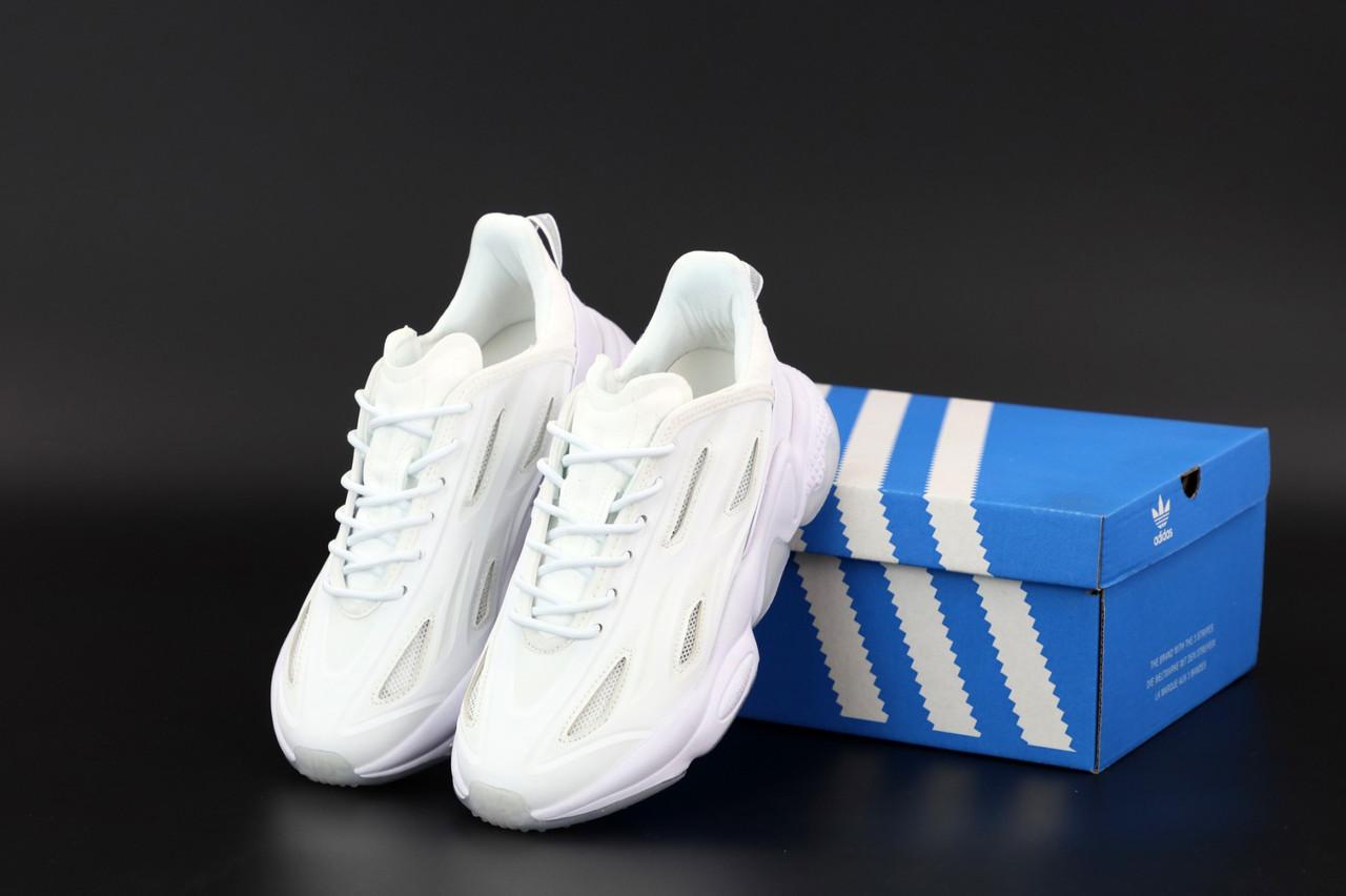 Белые женские Кроссовки Adidas Ozweego Celox