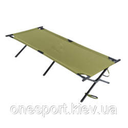 Кровать кемпинговая Ferrino Strong Cot XL Olive + сертификат на 200 грн в подарок (код 218-576912)
