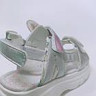Детские босоножки девочкам ТомМ,  сандалии с голограммой на трёх липучках от TomM, фото 6