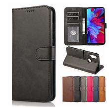 Чохол - книжка Xiaomi Redmi 9C з силіконовим бампером і відділенням для карток Колір чорний