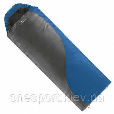 Спальний мішок Ferrino Yukon Plus SQ/+7°C Blue/Grey (Right) + сертифікат на 150 грн в подарунок (код 218-654236), фото 2