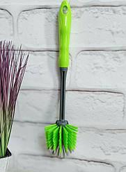 Щетка для посуды с длинной ручкой