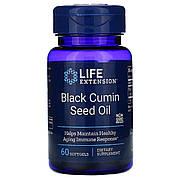 Масло семян черного тмина, Black Cumin Seed Oil, Life Extension, 60 капсул