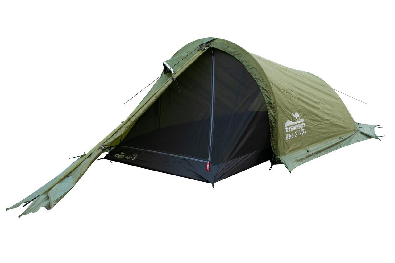 Палатка Tramp Bike 2 (V2) Зеленая