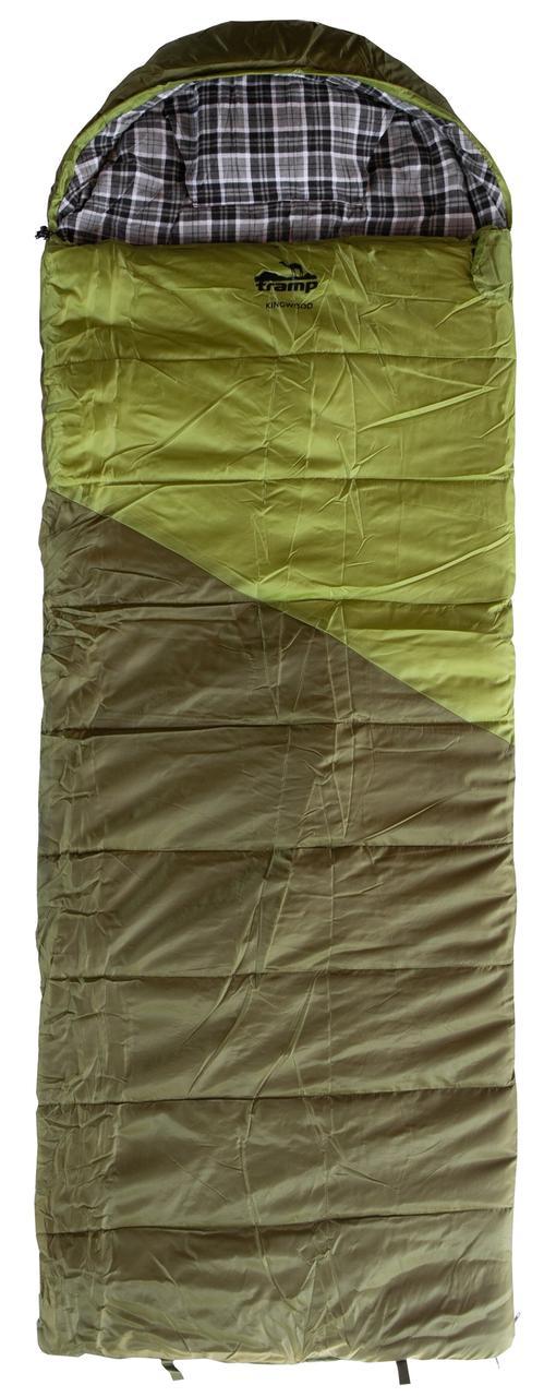 Спальный мешок одеяло Tramp Kingwood Long  TRS-053L-R