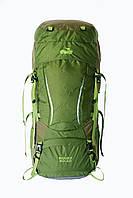 Туристичний рюкзак Tramp Sigurd 60+10 зелений, фото 1