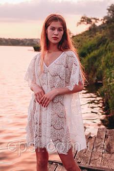 Пляжная одежда Forly Туника пляжная White ONE Белый PS0031-02-02_ONE
