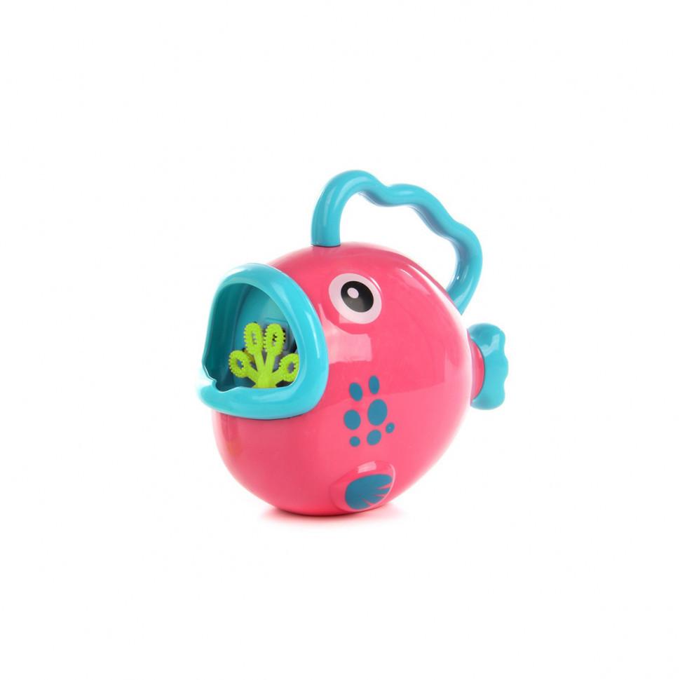 """Генератор мыльных пузырей """"Рыбка"""" P8808B 9*17*5 см (Розовый)"""