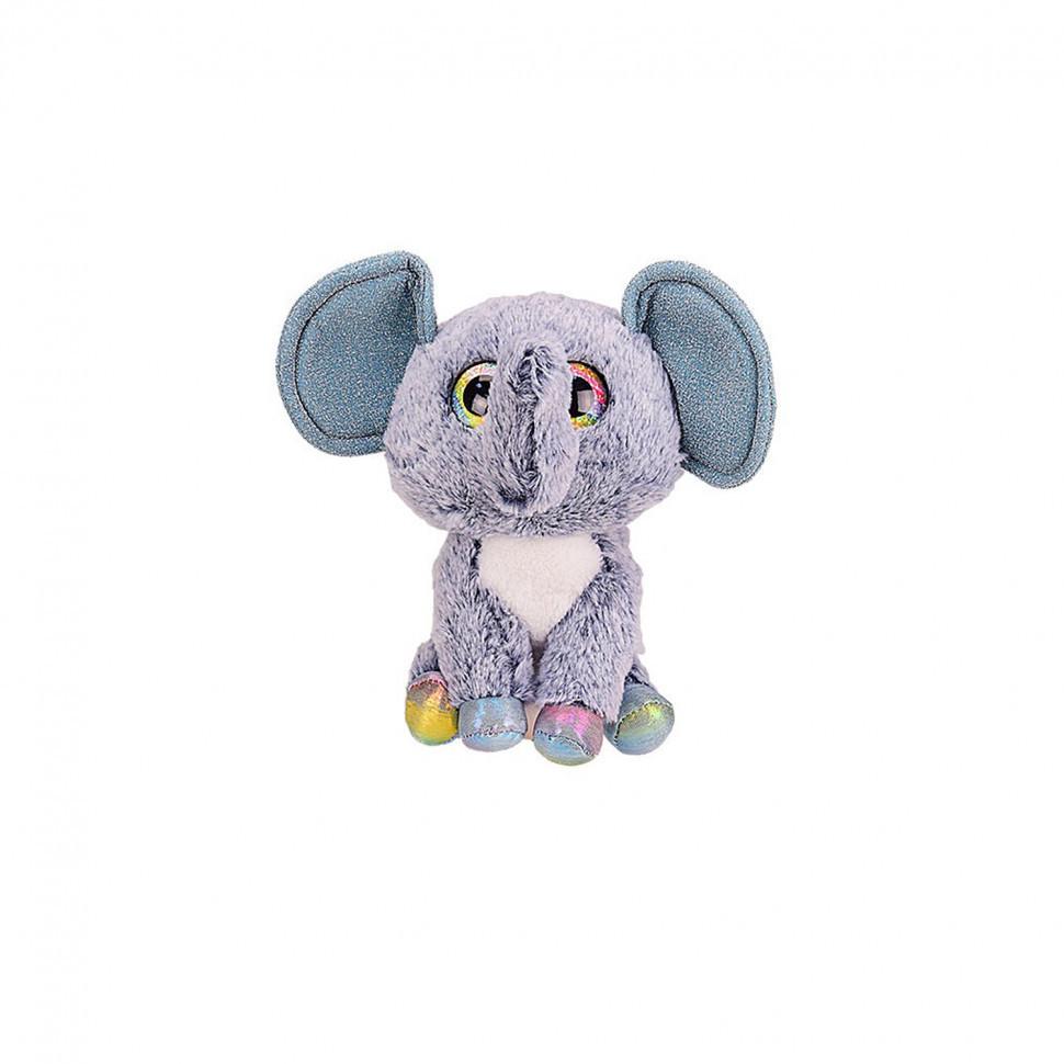 """Мягкая игрушка """"Глазастики"""" BE1012  30 см (Голубой Слоник)"""