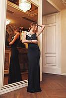 Платье для вечернего выхода с украшениями