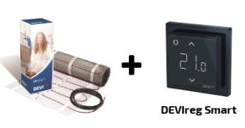 нагревательный мат с терморегулятором