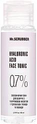 Тоник для лица с гиалуроновой кислотой Mr.Scrubber Hyaluronic Acid Face Tonic 0,7%, 80 мл