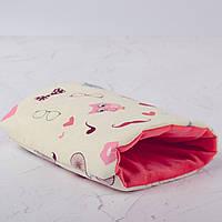 Подушка для кормления и укачивания новорожденных, на руку - совы 4