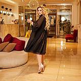 Жіночий літній сарафан вільного фасону тканина софт розмір: 50-52,54-56,58-60, фото 5