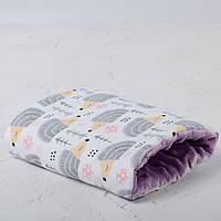 Подушка для кормления и укачивания новорожденных, на руку - ежики