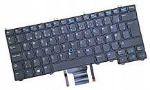 Клавіатура для ноутбука Dell Latitude E7240 E7420 E7440 EN чорна з трекпадом і підсвічуванням БУ