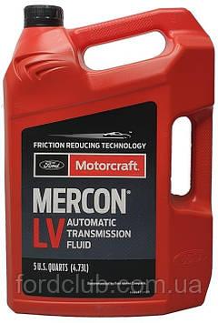 Для коробки передач Ford Escape 2009-2019; Motorcraft Mercon LV 4,73 л