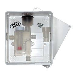 Горизонтальний сифон для кондиціонера Kit Dry With Horizontal Outlet Double для кондиціонера