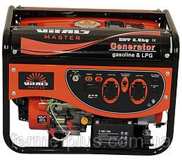 Генератор газ-бензин Vitals Master EST 2.8bg (2,8 кВт, электростартер)  Бесплатная доставка