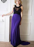 Вечернее платье со шлейфом | Кассандра шл lzn