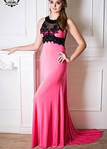 Вечернее платье со шлейфом | Кассандра шл lzn, фото 2