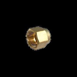 Латунная гайка для труб диаметром 3/4 (19-ка) Тайвань