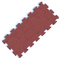 Резиновое покрытие GymStyle PuzzleGym 976х432х15 мм