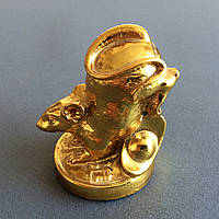 Статуэтка Крыса на монете с чашей изобилия