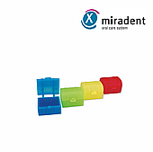 Cундучки для молочных зубов miradent Miratol, 100 шт