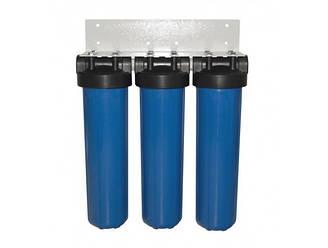 Потрійна система фільтрації Big Blue 20