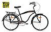 Avanti Cruiser Man 26 черный городской мужской велосипед