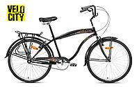 Avanti Cruiser Man 26 черный городской мужской велосипед, фото 1