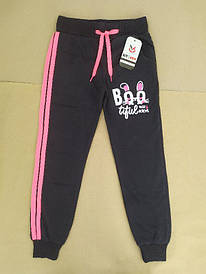 Спортивні штани на дівчинку 10-11 років чорні Туреччина