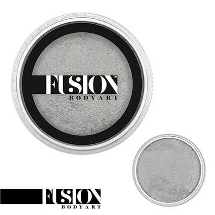 Аквагрим FUSION Перламутровый серебрянный 32g