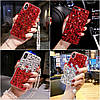 """Чехол со стразами силиконовый противоударный TPU для Xiaomi Mi Mix 3 """"SWAROV LUXURY"""", фото 4"""