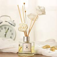 Аромадиффузор с ротанговыми палочками с ароматом Чайного дерева ароматические палочки