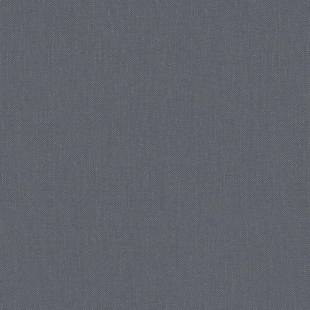 Однотонные темно серые немецкие обои 211774, оттенка графит или мокрый асфальт, виниловые на флизелиновой