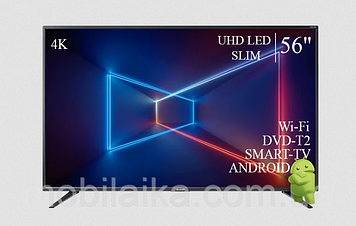 """ТЕЛЕВИЗОР SHARP 56""""  Smart-TV ULTRA HD T2 USB Гарантия 1 ГОД!"""