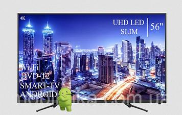 "Телевізор JVC 56"" Smart-TV ULTRA HD T2 USB Android 7.0 Гарантія 1 РІК"