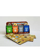 Деревянная игра-сортер Комодик «Сортировка мусора», 1,5+, фото 1