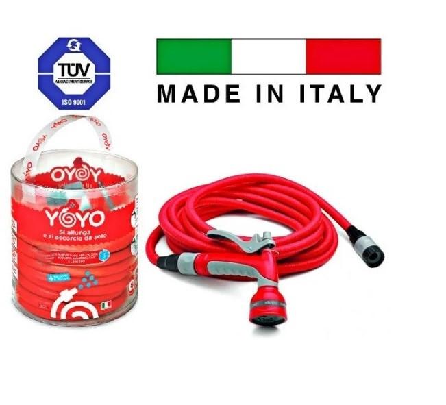 Шланг поливочный растягивающийся 30 м, с аксессуарами Fitt YOYO Италия
