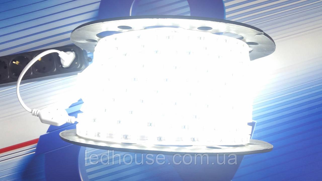 Світлодіодна стрічка 220V SMD5050 (60 led/m) IP68 220V PREMIUM