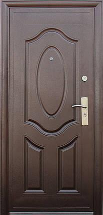 Китайские металлические входные двери ТР-С 121 утепленные минватой наружные на улицу, фото 2