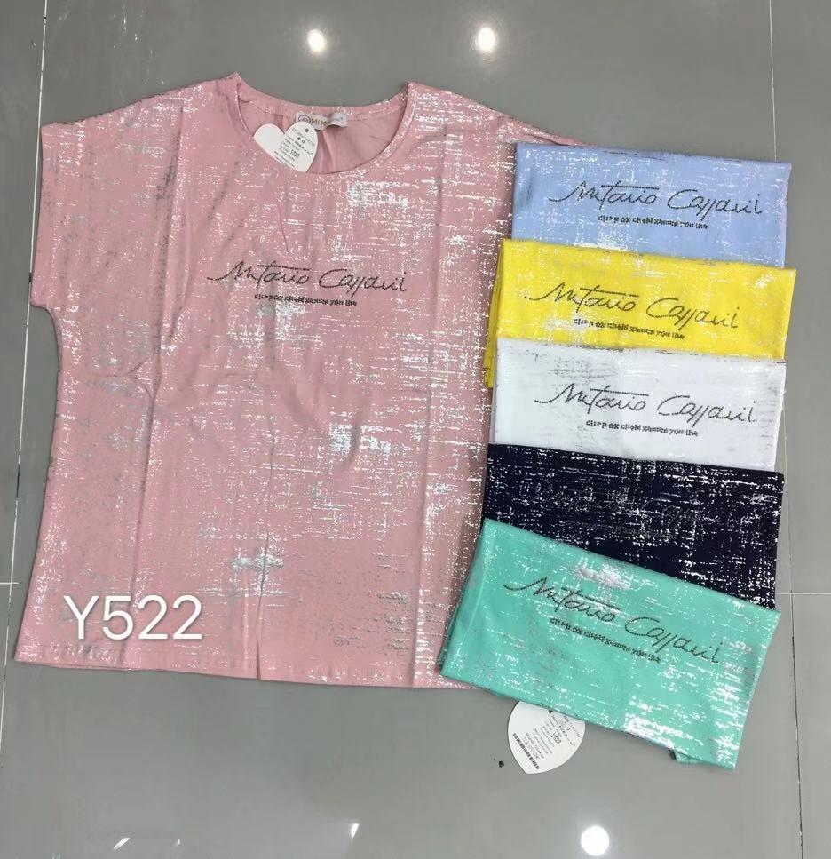 Літня футболка великого розміру 46-52 (в кольорах)
