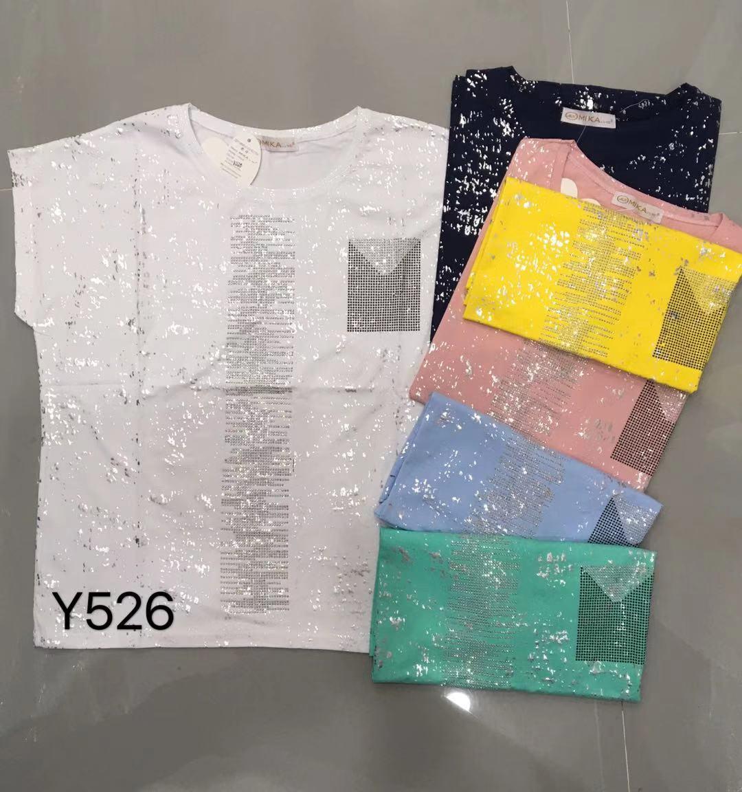 Батальная женская футболка со стразами 46-52 (в расцветках)