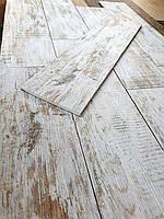Скандинавский стиль. Плитка для пола под состаренное дерево с корой Breste W 150x600 Керамогранит